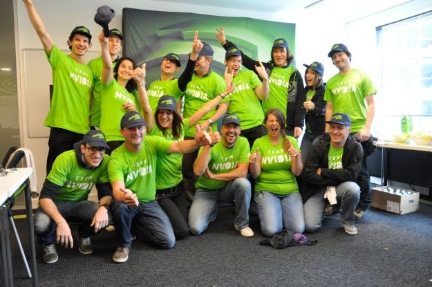 Photo d'équipe NVIDIA