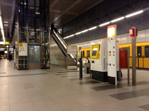 Station de Métro à Berlin